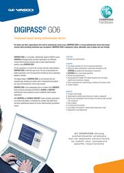 Vasco Digipass Go 6 5414602191007 Leaflet