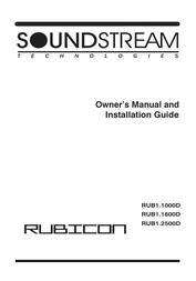 Soundstream 1000d User Manual