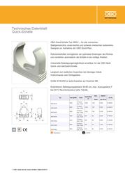 Obo Bettermann Installation pipe Light grey (RAL 7035) 2149010 Data Sheet