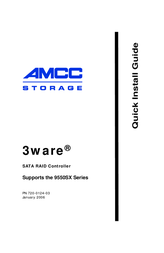 AMCC 9550SX-8LP User Manual