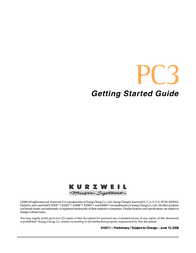 Kurzweil KSP8 TM User Manual