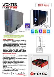 Woxter i-Case 345 CA26-018 产品宣传页