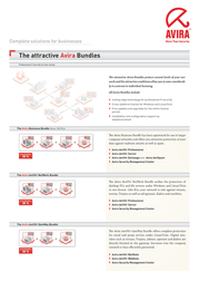 Avira AntiVir NetWork Bundle, 3 Years, 25 User 03NETW_25_49 Leaflet