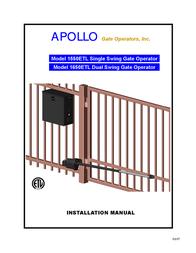 Apollo 1550ETL User Manual