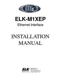 ELK M1XEP User Manual