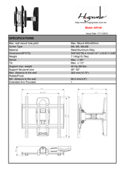 Highgrade AR140 HG-AR140 Leaflet