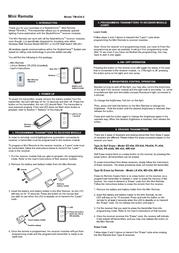 Skylink TM-434-2 Leaflet