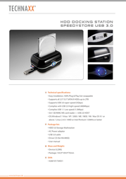 Technaxx HDD DOCK Leaflet