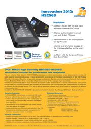 Digittrade HS256S 750GB DG-HS256S-750SSD Leaflet