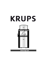 Krups GVX242 User Manual