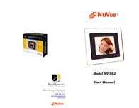 Digital Spectrum NuVue Digital Picture Frame NV-562 User Manual