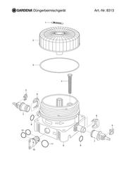 Gardena Micro Drip Fertilizer Dispenser 8313-29 Leaflet