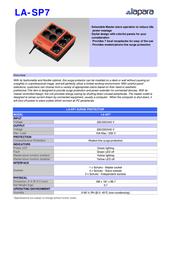 Lapara LA-SP7 Leaflet