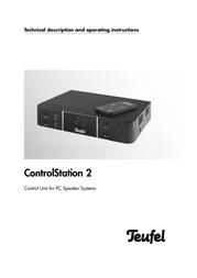 Teufel Concept E 350 Control 102917001 User Manual
