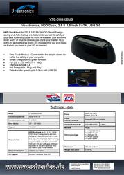 Vosstronics VTG-DBB323US Leaflet