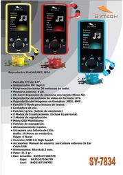Sytech SY-7834A Leaflet