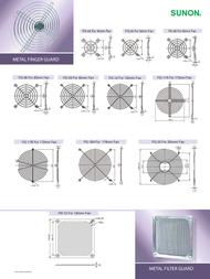 SUNON FG-06 Grill For SUNON Fan (W x H) 60 mm x 60 mm FG-06 Data Sheet