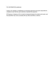 Rel Acoustics H1LONGBOW User Manual