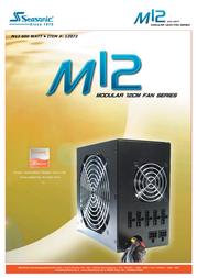 Nanopoint M12-600 power supply M12-600 User Manual