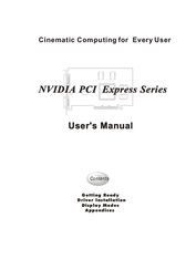 Nvidia PCI Express Series User Manual