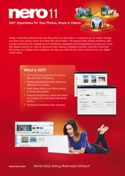 Nero Multimedia Suite 11 EMEA-10020000/1285 Leaflet