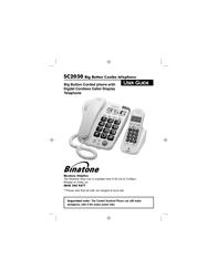 Binatone SC2050 User Manual