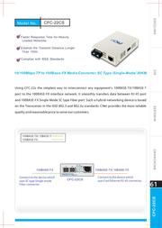 Cnet CFC-22CS Leaflet