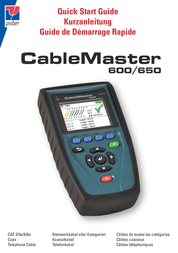 Psiber Data PD_CM600 Cable tester, cable tester 226515 User Manual