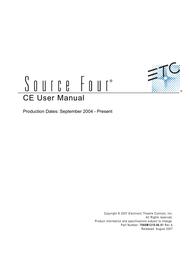 Source Technologies 450 User Manual