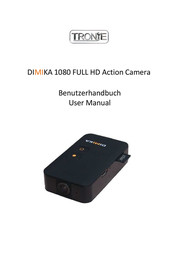 Tronje Action Cam 31101 Dimika 31101 Data Sheet