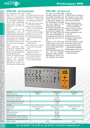 POLYTRON SPM 2.000 digi 5525200 Leaflet