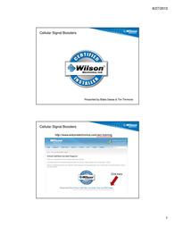 Wilson Electronics 308410 User Manual