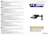 "Newstar Products NOTEBOOK-D100 Laptop Cooler 10.1"", 11.6"", 12.1"", 12.5"", 13.3"", 14"", 15"", 15.4"", 15.6"", 16"", 16.4"", 17"", NOTEBOOK-D100 Leaflet"