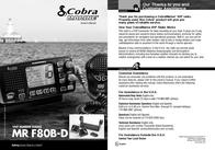 Cobra MR F80BD MR-F80BD User Manual