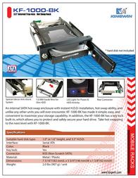 Kingwin KF-1000-BK Leaflet