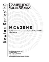 Cambridge SoundWorks MC630HD User Manual
