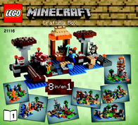 Lego Minecraft LEGO® MINECRAFT™ 21116 CREATIVE BOX 21116 Data Sheet