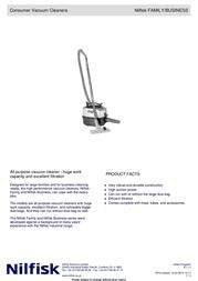 Nilfisk CDB 3000 905 9401 010 User Manual