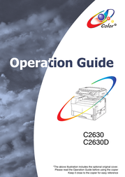 ColorVision c2630D User Manual