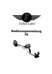 Fisher Research Labs Metal Detector F5-11DD F5 F5-11DD Fiche De Données