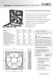 Noiseblocker PK2 Data Sheet