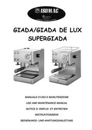 Isomac giada User Guide