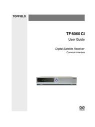 Topfield TF 6060 CI User Manual