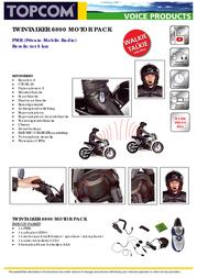 Topcom TwinTalker 6800 MotorPack TOP120007 전단
