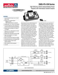 Datel DMS-PS-CM User Manual