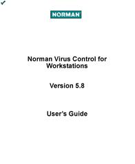 Norman PROMO PAKKET ANTIVIRUS ALLEEN VISTA, 32 BIT, 2 PCS, 25 PAK NVCV25-BUN User Manual