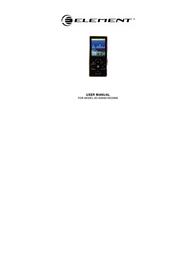 ELEMENT Electronics GC-920 User Manual
