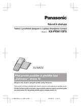Panasonic KX-PRW110FX Operating Guide