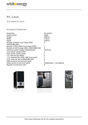 Whitenergy 06780 Leaflet