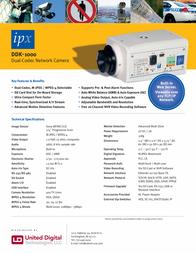 United Digital Technologies IPX-DDK-1000 Merkblatt